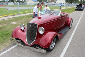 cars - 1933 Ford Roadster k allen-front