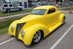 cars - 1937 Ford coupe Chad Ledet-front