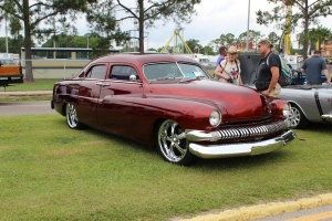 cars - 1951 Mercury Leadsled Dale Hildago-front