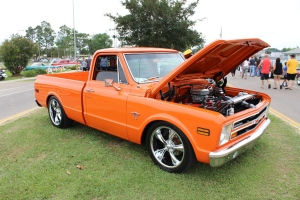 cars - 1971 Chevy C10 Pick-up Scott Ledet-front-b