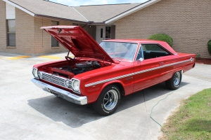 1966 Plymouth Belvedere front left side