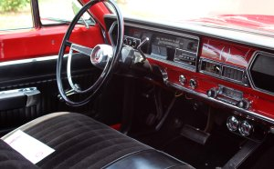 1966 Plymouth Belvedere inside dash