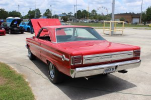 1966 Plymouth Belvedere rear left side