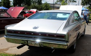 1967 Dodge Charger rear right side