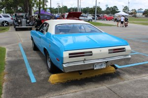 1970 Plymouth Duster rear left side