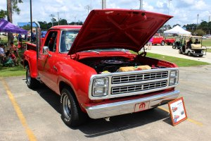 1979 Dodge lil red truck front right